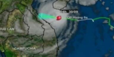 "Taifun ""Wutip"" bedroht Vietnam"