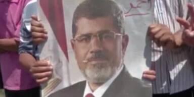 Marsch der Millionen für Ex-Präsident Mursi