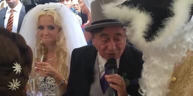 Lugners erstes Interview nach Hochzeit!