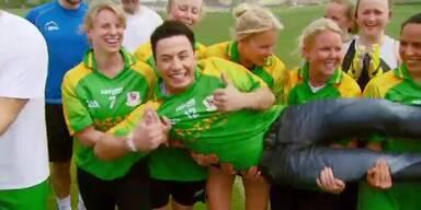 Natália Kellys Gaelic Matchen sich mit Irlands Ryan Dolan