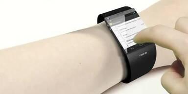 So könnte Google Smartwatch aussehen