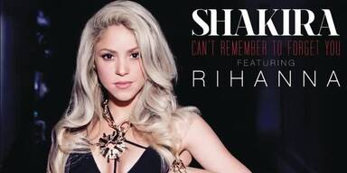 """Shakira & Rihanna: """"Can't Remember To Forget You"""""""
