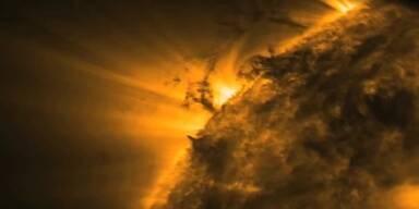 Sensationell: NASA filmt Sonnen-Tornados