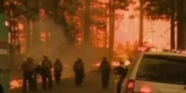 Gigantische Waldbrände in Kalifornien