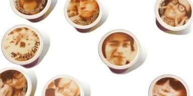 Drucker hübscht Kaffee mit Handy-Fotos auf