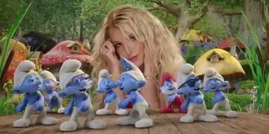 Britney rockt mit Söhnen & Schlümpfen