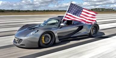 Venom GT stellt neuen Speed-Rekord auf