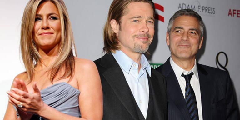 Brad & Jen: Eklat bei Clooney-Hochzeit?