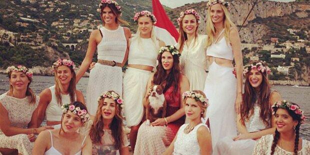 Casiraghi: Brautparty auf Luxus-Yacht
