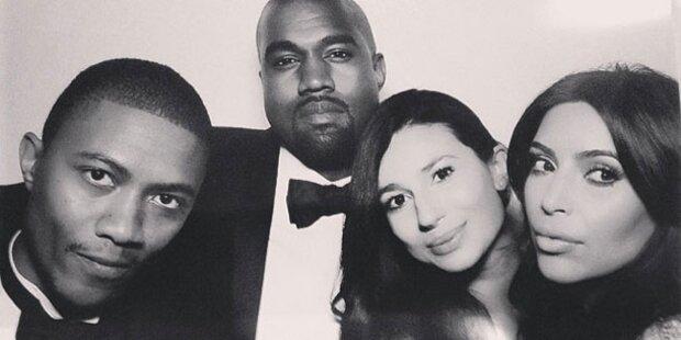 Kimye-Hochzeit: So feierten sie auf Instagram
