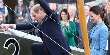 Herzogin Kate & Prinz William in Neuseeland begrüßt