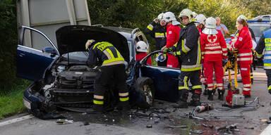 Schwerer Verkehrsunfall in Biedermannsdorf
