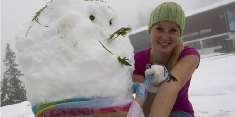 Schneemann zum Sommer-Start