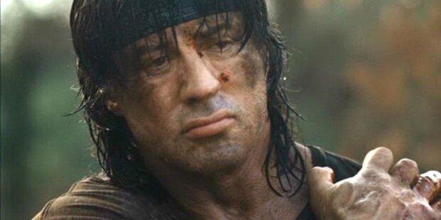 Sylvester Stallone wird wieder zum Rambo