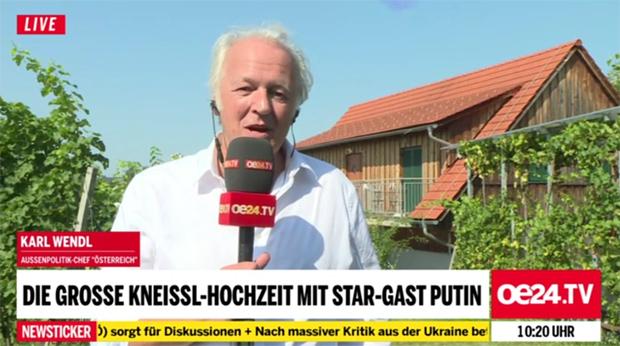Karl Wendl oe24.TV