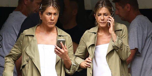 Jen Aniston, warum ohne Ehering?