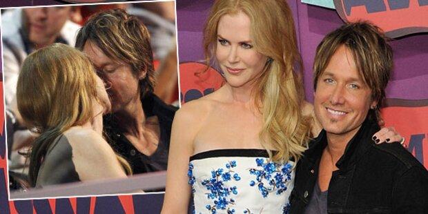 Kidman: Liebesshow mit Ehemann Keith