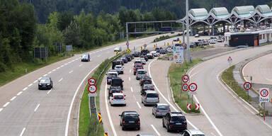 Stau auf Österreichs Straßen