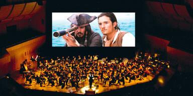 """""""Fluch der Karibik"""" mit großem Orchester"""
