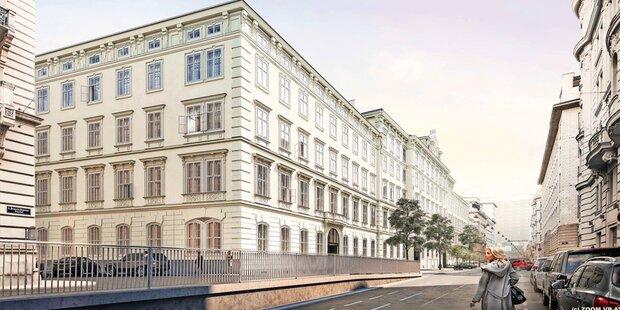 Post Palais im Endspurt: Hideaway im Stubenviertel