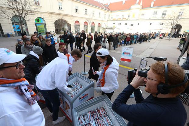 KINDER Eiszeit in Wien