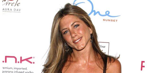 Jennifer Aniston zahlt gerne für Freunde