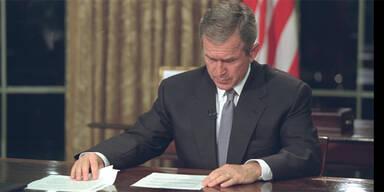 Eindrucksvolle Bilder: So erlebte Bush 9/11