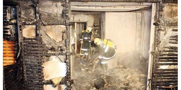 4 Verletzte bei Brand in Personal-Haus