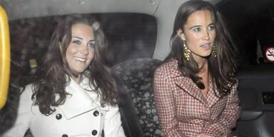 Prinzessin Kate und Schwester Pippa Middleton