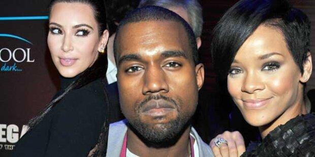 Kim verbannt Rihanna aus Kanyes Garderobe