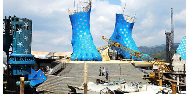 Bregenzer Seebühne: Aida auf großem Fuß
