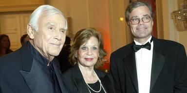 Joachim & Gundel Fuchsberger mit Sohn Thomas