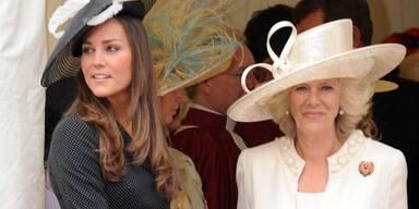 Kate Middleton & Camilla Mountbatten-Windsor, Herzogin von Cornwallt