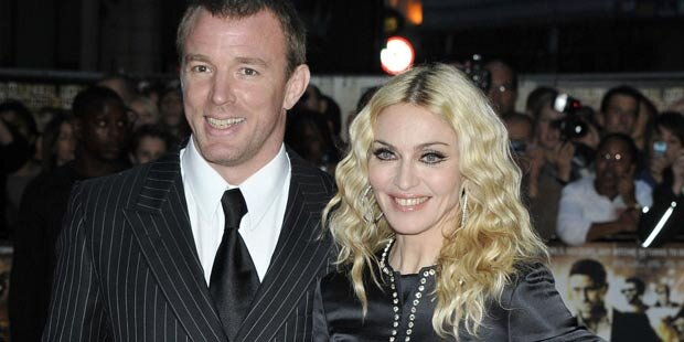 Madonna feiert Weihnachten mit Guy Ritchie