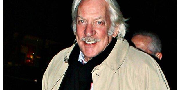 Donald Sutherland dreht in Österreich