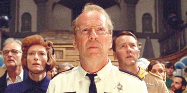 Goldene Palme: Start mit Bruce Willis