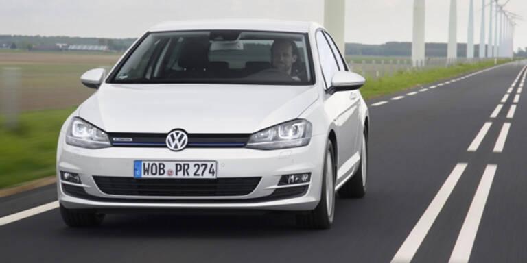 VW Golf jetzt auch mit Dreizylinder