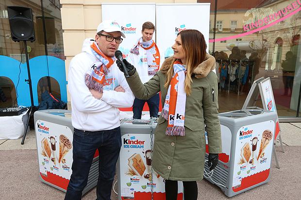 Martina Kaiser für KINDER Ice Cream