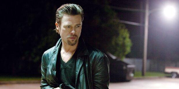 Hollywood-Star Brad Pitt als cooler Mafioso