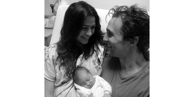 Matthew McConaughey zeigt seine Tochter!
