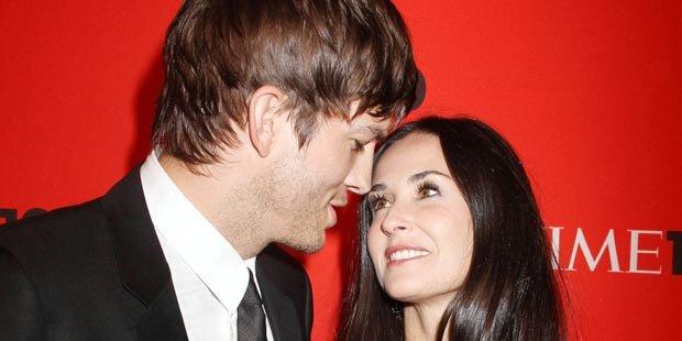 Kutcher & Moore führen offene Beziehung