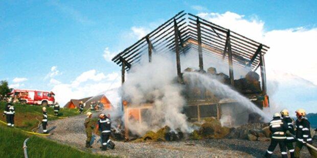 Gebäude zum 2. Mal abgebrannt