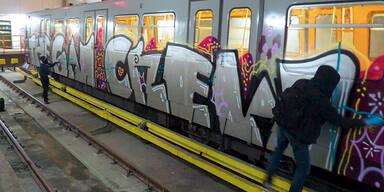 Graffiti-Sprayer: Koma wie bei Schumi