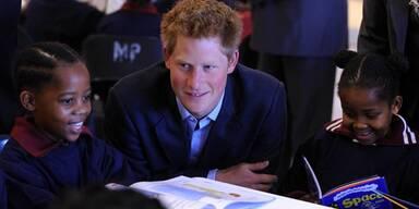 Prinz Harry hat ein Herz für Kinder