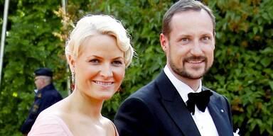 Kronprinz Haakon von Norwegin und seine Mette-Marit