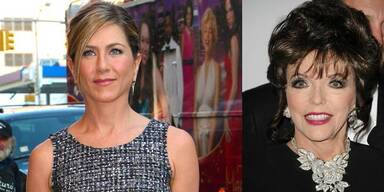 Jennifer Aniston, Joan Collins