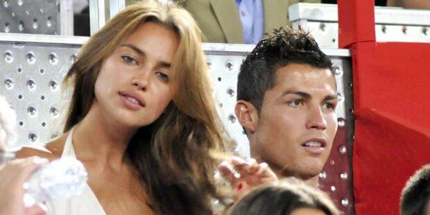 Cristiano Ronaldo: Hochzeit mit Irina 2012?