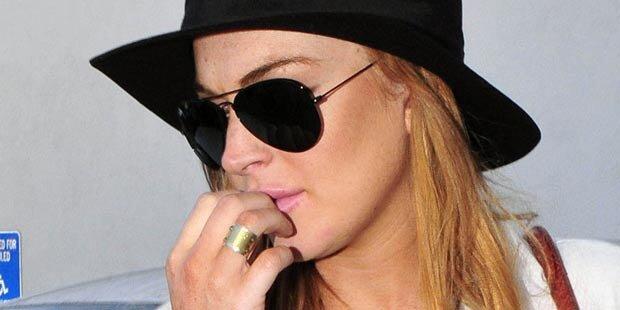Lindsay ist wieder auf Drogenentzug
