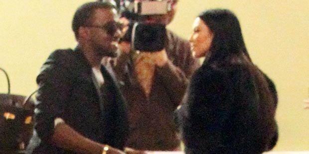 Läuft doch etwas zwischen Kim & Kanye?