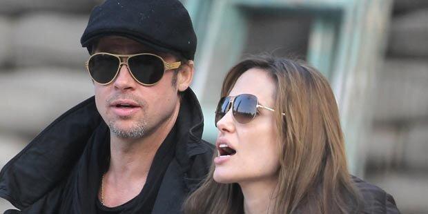 Lässt Angelina ihre Kids Wein trinken?